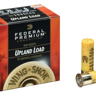 """Federal, Pheasants Forever, 20 Gauge, 2 3/4"""" 1 oz. Shotshells, 25 Rounds 7.5-Shot"""