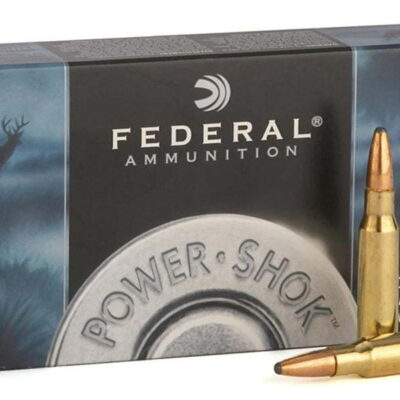 Federal 7mm Mauser 175 gr Soft Point Round Nose Power Shok 20/Box