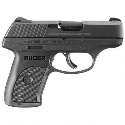 "Ruger LC9s 9mm Luger Semi Auto Handgun 3.12"" Barrel 7 Rounds Polymer Frame Blued Slide Matte Black Finish"