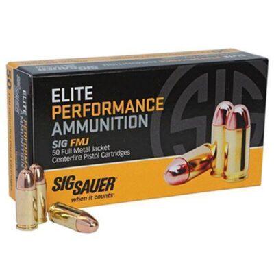 SIG Sauer .357 Magnum Elite Ammunition 50 Rounds, FMJ, 125 Grains
