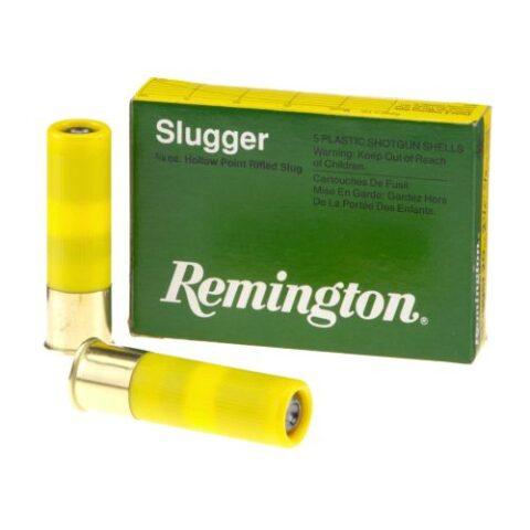 "Remington Slugger 20 Gauge Ammunition 2-3/4"" Rifled Slug 5/8 Oz 5 Rds"