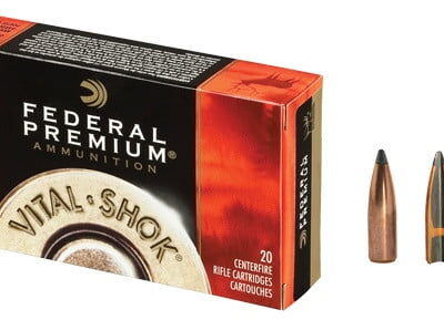 Federal Vital-Shok .270 Winchester 130 Grain Nosler Partition