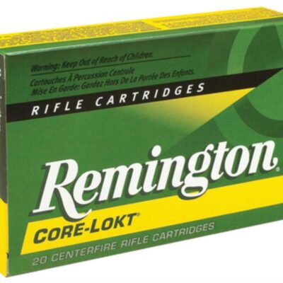 Remington Core-Lokt 25-06 Rem Pointed Soft Point 120gr, 20Bx