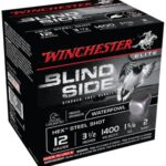 Winchester Blind Side Steel Hex Magnum Waterfowl 12 Gauge 3.5 Inch 1400 FPS 1.625 Ounce 2 Shot
