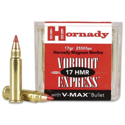 Hornady .17 HMR Ammunition 50 Rounds, V-MAX Polymer, 17 Grains