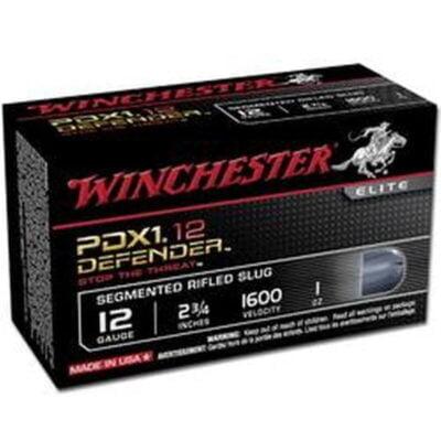 "Winchester PDX1 12 Gauge 2.75"" 1oz Segmenting Slug 10 Rounds 1600 fps"