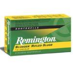 Remington 12 Gauge Ammunition 5 Rounds 2.75″ Rifled Slug 1.0 oz.