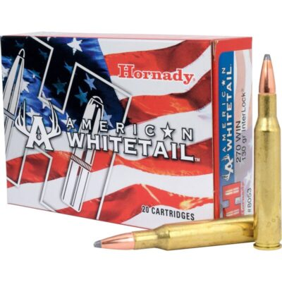 Hornady .270 Winchester Ammunition 20 Rounds Interlock SP 130 Grains