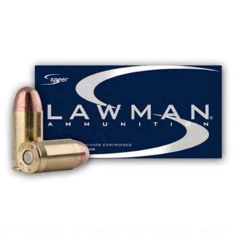 Speer Lawman .357 SIG Ammunition 50 Rounds TMJ 125 Grains 53919