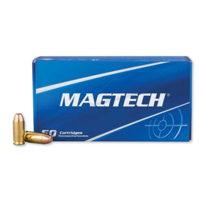 Magtech .40 S&W Ammunition 50 Rounds FMJ FP 180 Grains 40B