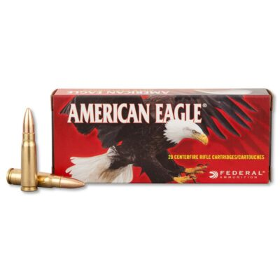 Federal American Eagle 7.62x39mm Ammunition 124 Grain FMJ 2350 fps