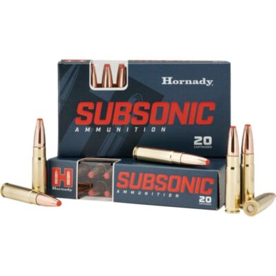 Hornady .300 Blackout Ammunition 20 Rounds Subsonic PT 190 Grains