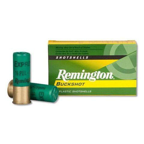 "Remington 12 Gauge Ammunition 5 Rounds 2.75"" 16 Pellets #1 Buckshot"