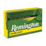 Remington Express 6mm Remington Ammunition 20 Rounds 100 Grain Core-Lokt PSP Soft Point Projectile 3100fps