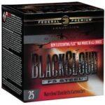 """Federal Black Cloud 12 Gauge 3"""" 1-1/4Oz #4 25/Bx"""