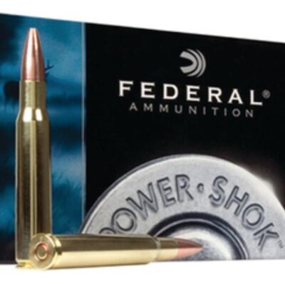 Federal Power-Shok 30 Carbine Soft Point RN 110gr, 20Box/10Case