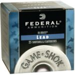 Federal Game Shok High Brass Lead 410 ga 3″ 1-1/16oz 6 Shot 25Bx/10Cs