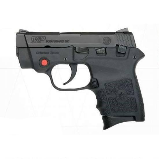 """S&W M&P Bodyguard 380 Crimson Trace Semi Auto Pistol 2.75"""" Barrel 6 Rounds with Laser and Safety Black"""