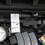 S&W M&P15 Performance Center AR-15 with Heavy Barrel and ATN Mars X6 Nightvision Scope