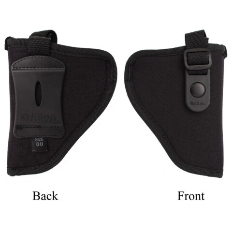 Allen Company 44800 Cortez Nylon Pistol Holster Size 0, Black