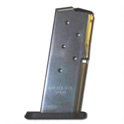 Beretta Nano 9mm Magazine 6 Rounds Stainless Steel JM6NANO9