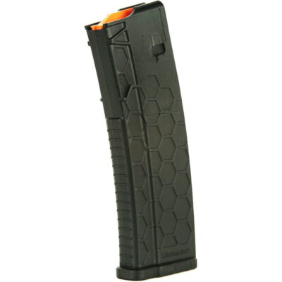 Hexmag Series 2 AR-15 Magazine w/ Extended Body 10RD .223 REM/5.56 NATO/.300 Blackout PolyHex2 Matte Black