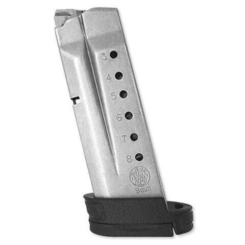 Smith & Wesson M&P Shield 9mm 8 Round Factory Magazine with Finger Rest