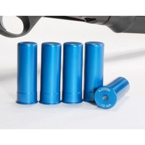 A-Zoom 12 Gauge Snap Caps Aluminum Blue 5 Pack 12311