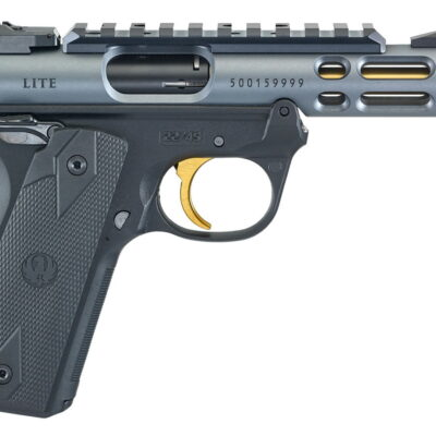 Ruger Mark IV 22/45 Lite 22LR Rimfire Pistol With Diamond Gray Anodized Finish