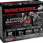 """Winchester Long Beard XR 12 Ga 3.5"""" 1050 FPS 2.1250oz 6 Shot 10RD"""