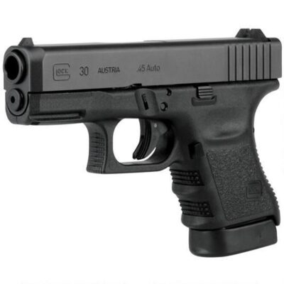 "GLOCK 30 Gen 3 Semi Automatic Pistol .45 ACP 3.77"" Barrel 10 Rounds Polymer Frame Black Finish PI3050201"
