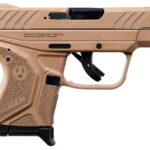 """Ruger, LCPII, Single Action, 380 ACP, 2.75"""" Barrel, 6+1 Round, Davidson's Dark Earth Glass-Filled Nylon Frame"""