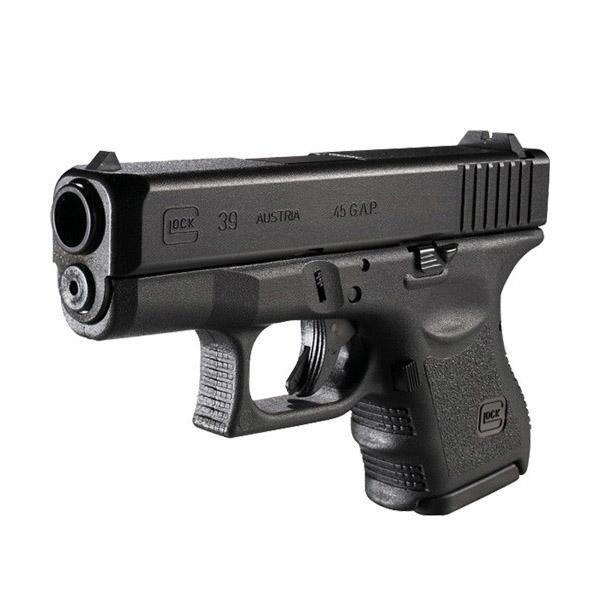 "GLOCK 39 Gen 3 .45 GAP Semi Auto Pistol, 3.42"" Barrel 6 Rounds, USA Made"