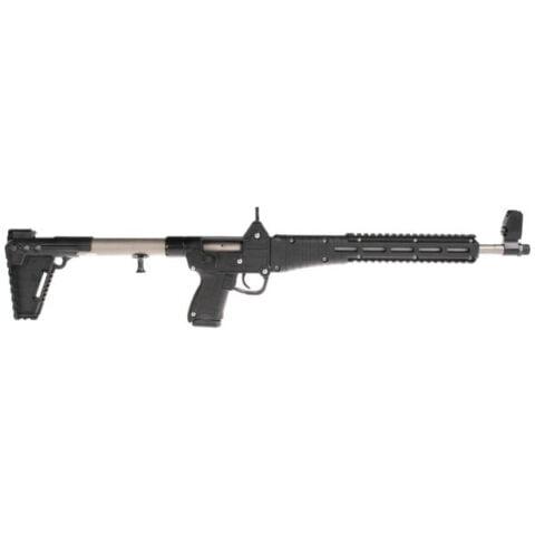 Kel-Tec SUB2K9GLK19NBHC Sub-2000 Rifle 9mm 16in 15rd Nickle Boron/Black Glock 19