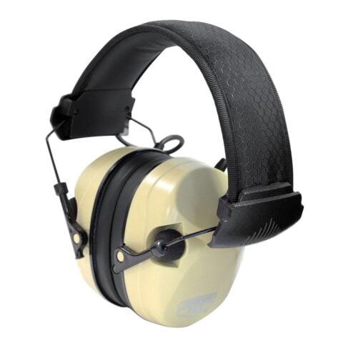 Birchwood Casey EKREST Desert Tan Shooting Earmuff Hearing Proector 26 NRR