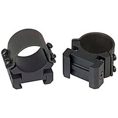 "Weaver 1"" Sure Grip Rings Medium Windage Adjustable Matte Black"