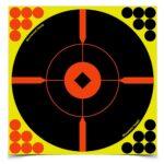 SHOOT•N•C® 8 INCH BULL'S-EYE BMW, 6 TARGETS – 24 PASTERS