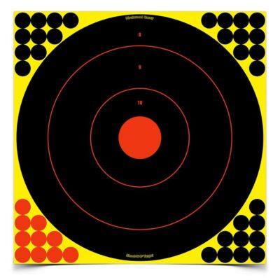 SHOOT•N•C® 17.25 INCH BULL'S-EYE, 5 TARGETS - 200 PASTERS