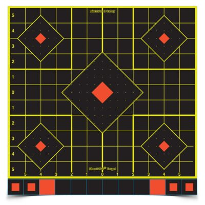 Birchwood Casey Shoot-N-C 12 in. Sight-In Target - 5 targets (replaces 34205)