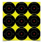 Birchwood Casey Shoot-N-C 2 in. Bulls-Eye Target – 108 Targets
