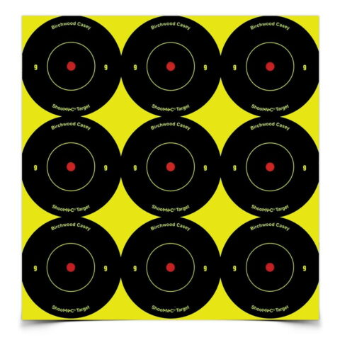 Birchwood Casey Shoot-N-C 2 in. Bulls-Eye Target - 108 Targets