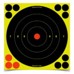 Birchwood Casey Shoot-N-C 8 in. Bulls-Eye Target - 30 Targets