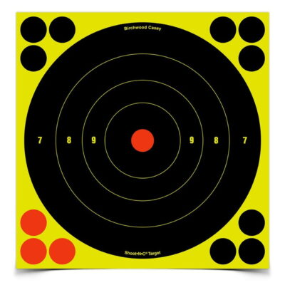 Birchwood Casey Shoot-N-C 8 in. Bulls-Eye Target - 30 Targets