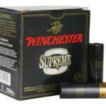 Winchester Supreme Hi-Velocity Steel Shot 12 Ga, 3″, 1-1/4oz, 2 Shot, 25rd/Box
