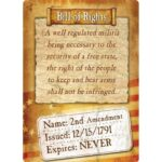"River's Edge Products ""Bill Of Rights"" Tin Sign 12 Inches by 17 Inches 1591"
