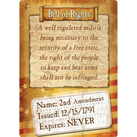 """River's Edge Products """"Bill Of Rights"""" Tin Sign 12 Inches by 17 Inches 1591"""