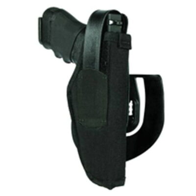"BLACKHAWK! Paddle Holster #15 Large Autos 3.75""-4.52"" Barrel Right Hand Nylon Black"