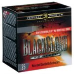 Federal Black Cloud FS Steel 20 Gauge Ammunition 25 Rounds 3″ #4 1 Ounce Steel Shot Flitecontrol Flex Wad 1350fps