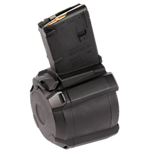 Magpul PMAG D-60 AR-15 .223/5.56 60-Round Polymer Drum Magazine