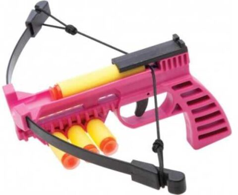 Nxt Generation Pink Crossbow Pistol W/quiver & Projectiles